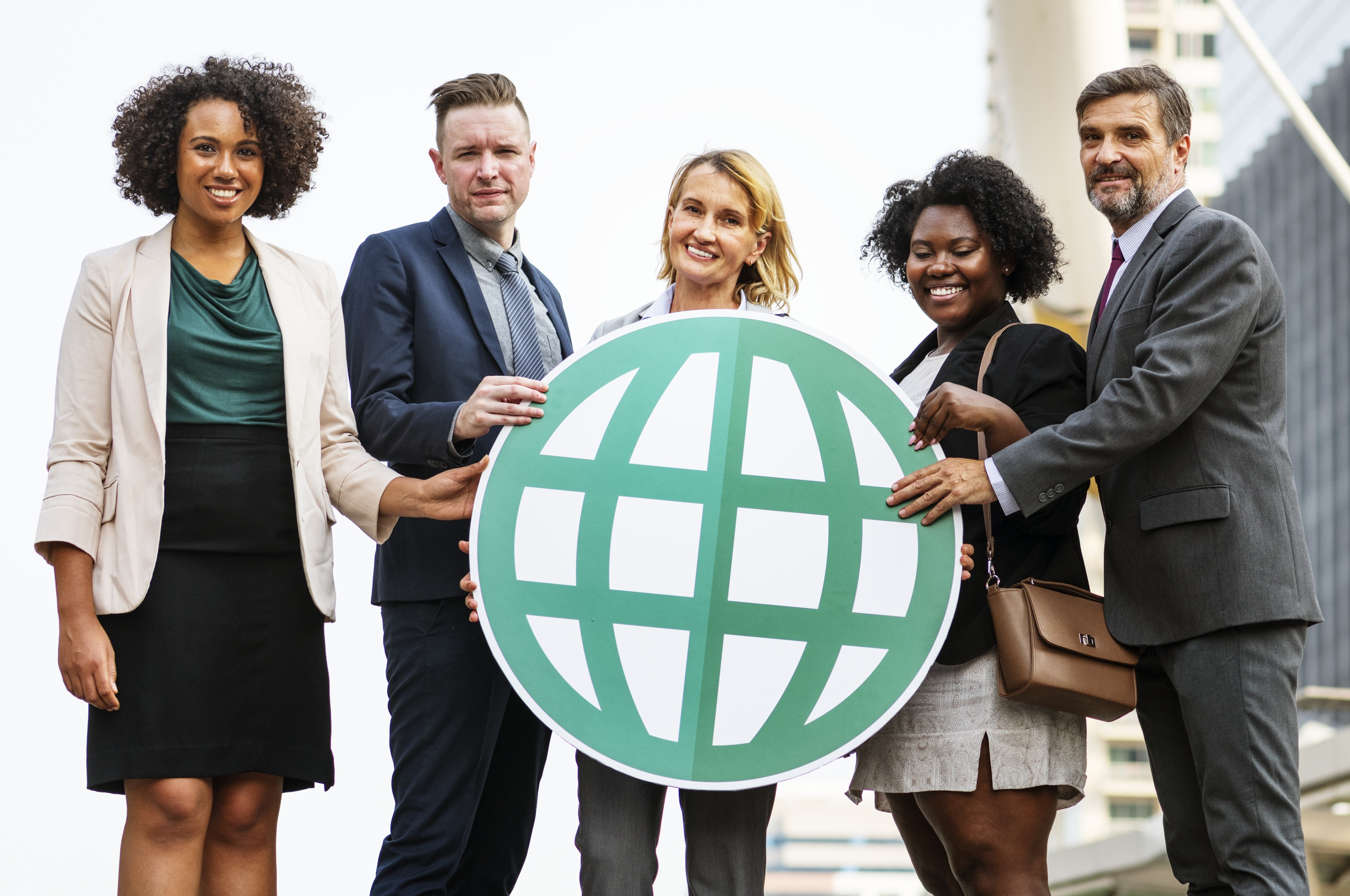 Group Holding a world cutout